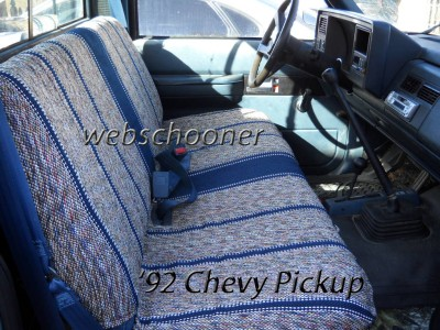 Truck Bench Seat Cover Saddle Blanket Burgundy 1pc Full