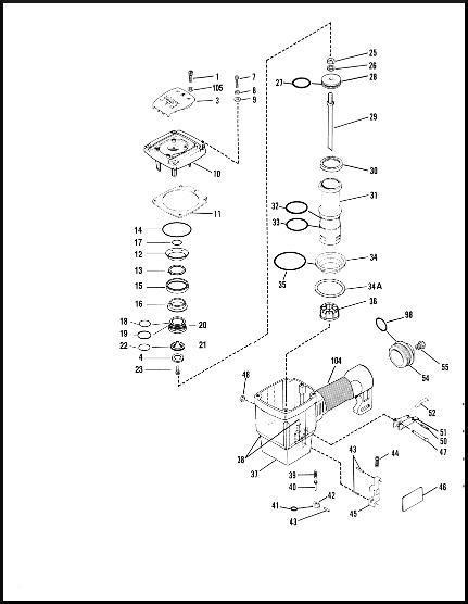 Paslode 5300/75 Framing Nailer O ring Rebuild Kit