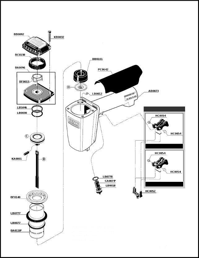 Senco SKS SKSXP SPS Stapler O ring Rebuild Kit LOWEST COST