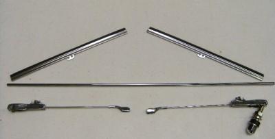 1928 to 1936 Ford Tandem Windshield Wiper Kit Blade Arm