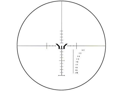 XD 6-24x56ESF Y Reticle Punto Iluminado Mira Telescopica