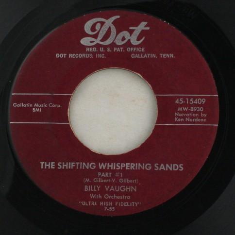 vinyl record, 45, Billy Vaughn