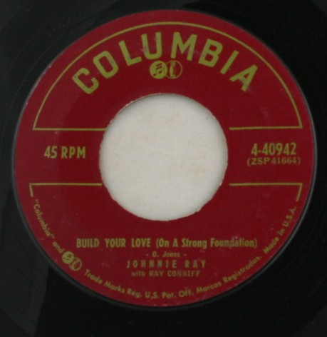 vinyl record, 45, Johnny Ray