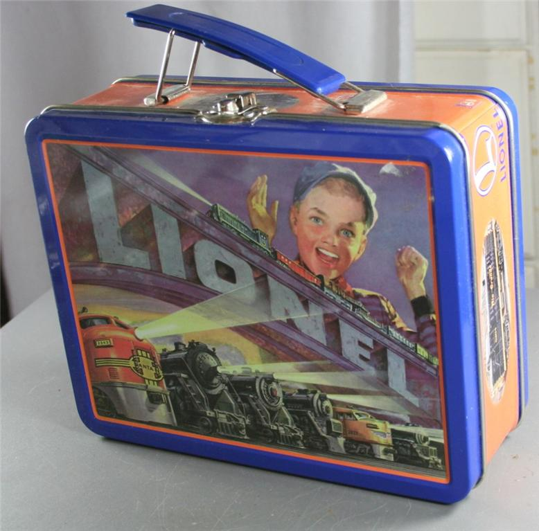 Lionel, train, lunchbox, collectible, lunch box