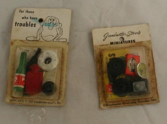 vintage dollhouse, miniatures, dollhouse miniatures, travel, 40s, troubles,objects
