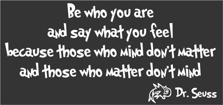 Image result for be who you are