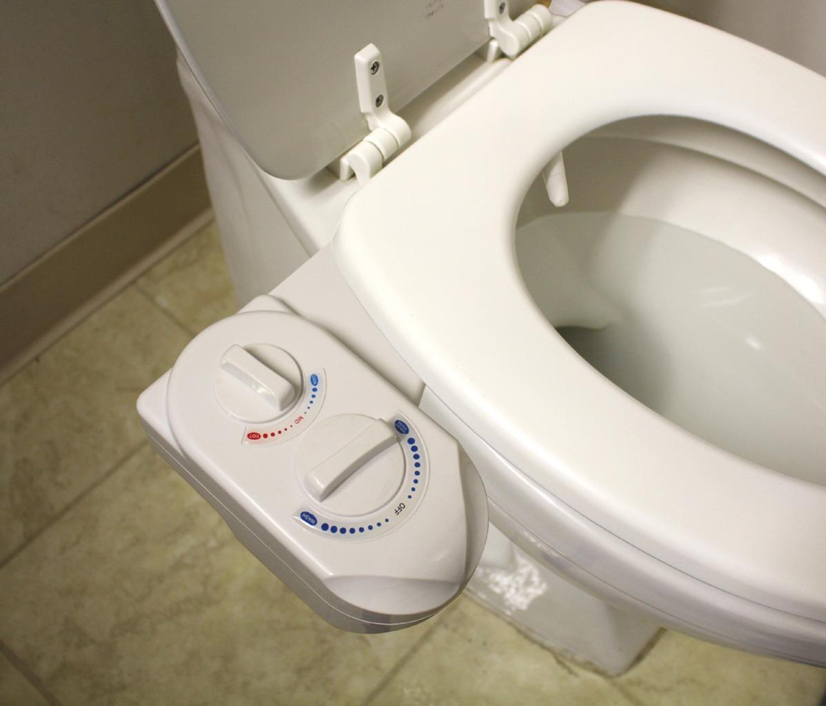 Nozzle Hot Cold Water Spray NonElectric Bidet Bathroom