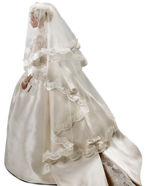 Princess GRACE KELLY  The BRIDE  Gold Label Silkstone Barbie doll NRFB  T7942