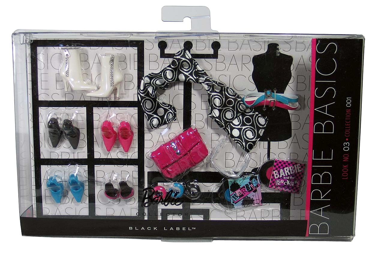 BARBIE BASICS Accessory Pack Look No 3 03 003 30