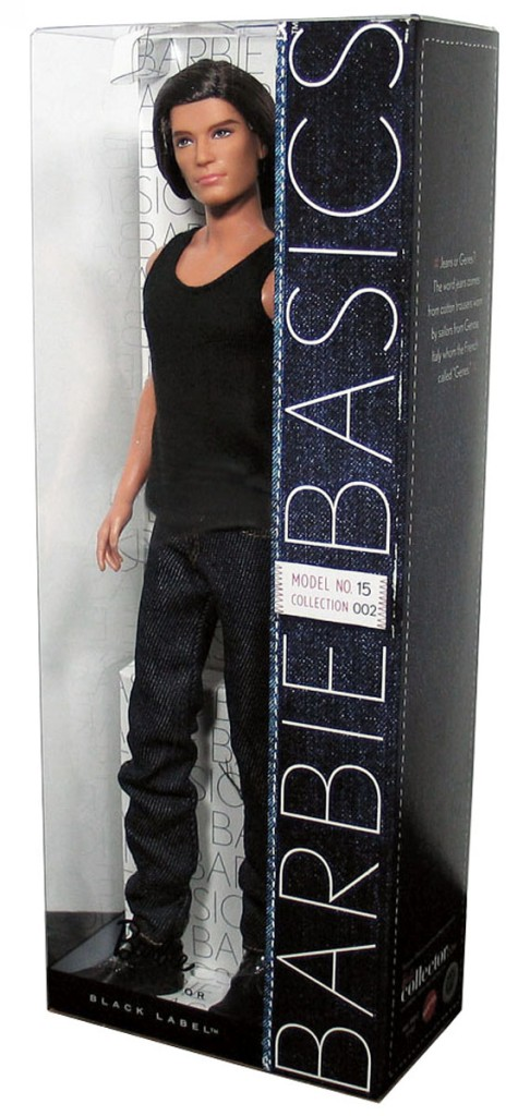 BARBIE BASICS Ken Doll Muse Model No 15 015 150