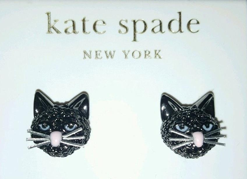 Kate Spade New York Cat S Meow Out Of The Bag Black Cat