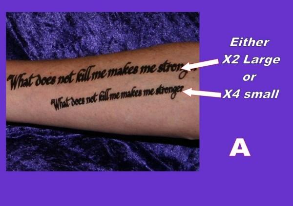 tattoos arm forearm personalised