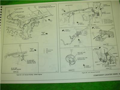 how to read wiring diagrams automotive 220v 2 phase diagram 1993 gmc vandura rally van electrical diagnosis service shop manual | ebay