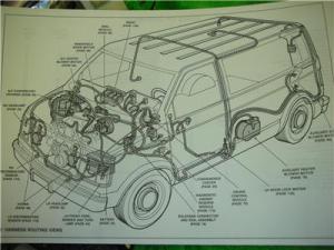 1993 GMC SAFARI VAN ELECTRICAL DIAGRAMS SERVICE MANUAL | eBay