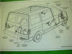 1993 GMC SAFARI VAN ELECTRICAL DIAGRAMS SERVICE MANUAL | eBay