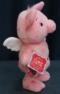 2013 Hallmark CUPIG Sings Shuffle Dance VIDEO CUPID PIG