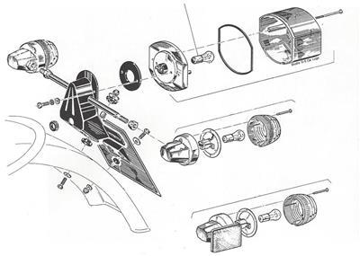 1975-1984 Moto Guzzi Ducati Laverda 750 850 900 CEV-style