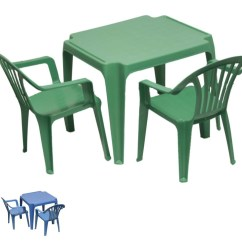 Plastic Table And Chair Set Baby Relax Lainey Wingback A Half Rocker Children 39s Kids Furniture Two Ebay