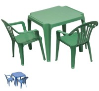 Children's Kids Furniture Plastic Table & Two Chair Set | eBay