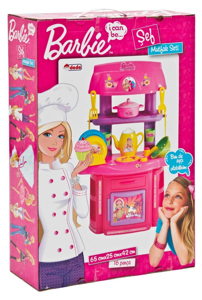 16 Pezzi Barbie Cucina Giochi Dei Bambini Bambini Ruolo Giocattolo Set  eBay