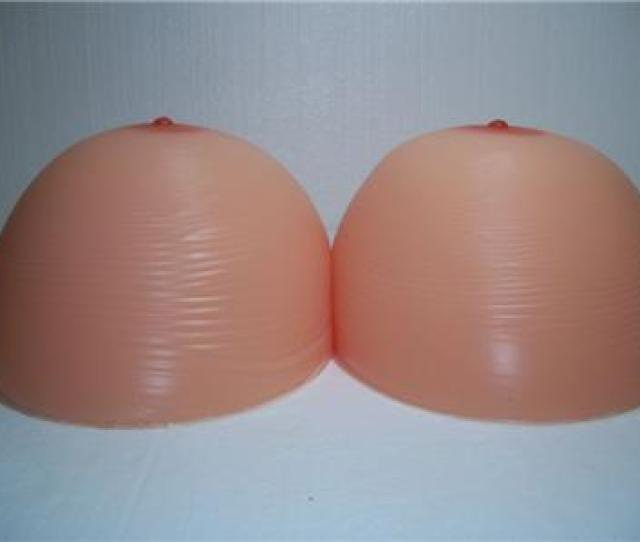 Extra Large Silicone Breast Forms Size 24xl 11 Mega Pounds On Each Side