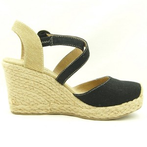 Closed Toe Wedge Heel Espadrille Sandals Women39s Shoes 5