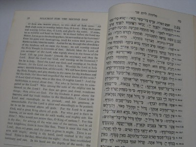 The Authorised Selichot for the Whole Year HEBREW