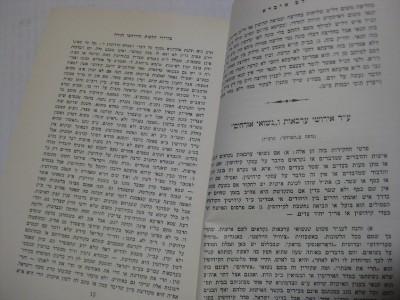 Hebrew RAV HENKIN PIRUSHE LEV IVRA Hebrew book + 40 YEAR
