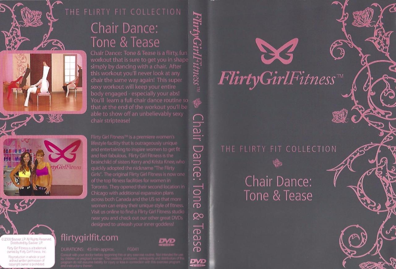 chair gym dvd set ikea yellow flirty girl fitness the teaser collection