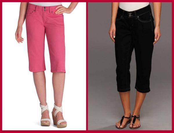 Levi' 529 Curvy Capri Women' Jeans 48 Nwt