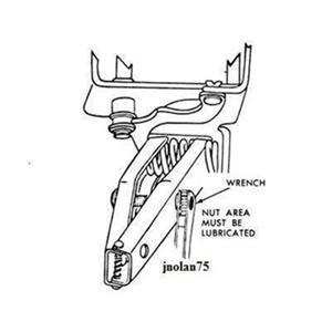 New GM Vehicle Door Spring Compressor Hinge Pin Removal