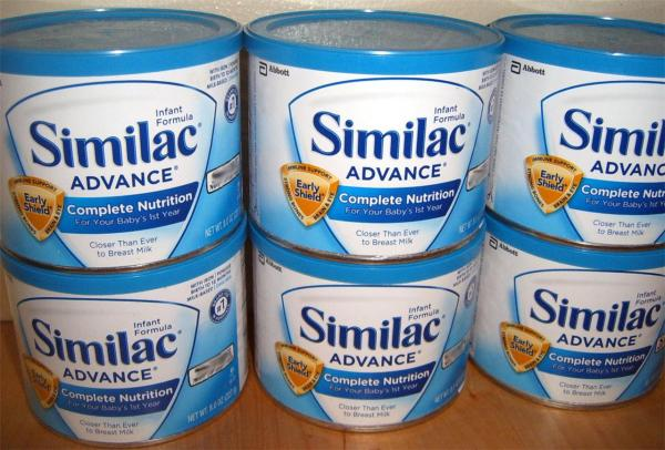 6 8 Oz Similac Advance Infant Formula Cans Lot