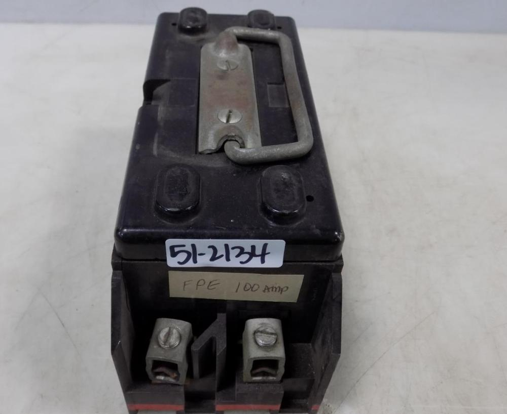 medium resolution of details about fpe 100amp 2 pole fuse block pull