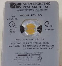 area lighting research inc photoelectric switch pt 168 nib [ 1288 x 966 Pixel ]