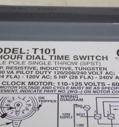 intermatic 40a spst 24 hour dial time switch model t101 nnb [ 1288 x 966 Pixel ]