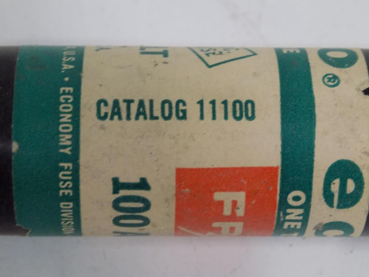 hight resolution of fpe one time 100amp fuse 11100 ls jch 12 20 2018 shelf 51 2263 1 jobcode unknown