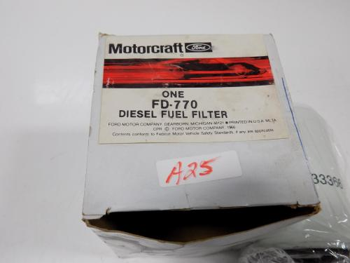 small resolution of details about motorcraft diesel fuel filter fd 770 nib