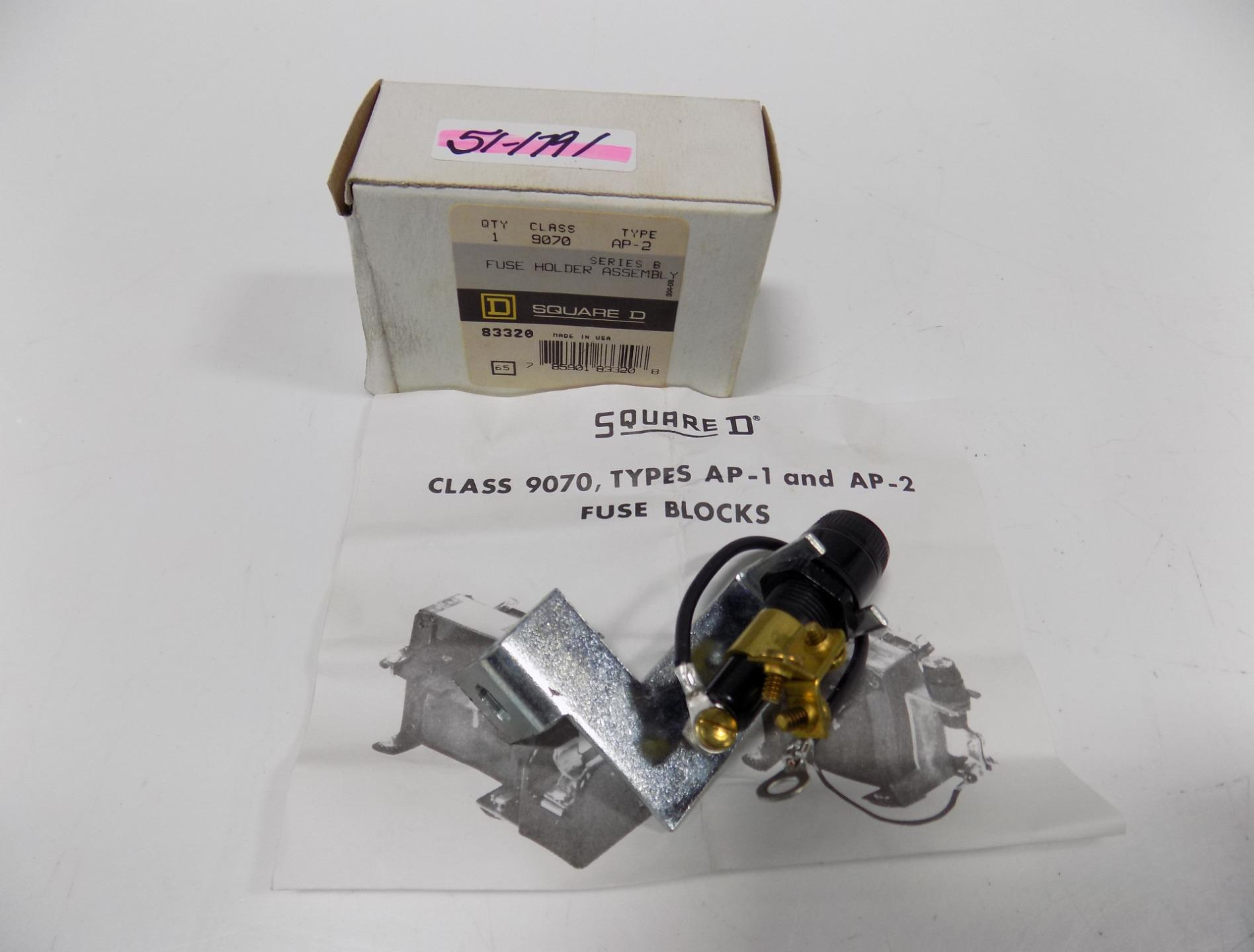 hight resolution of details about square d fuse holder assembly series b 9070 ap 2 nib