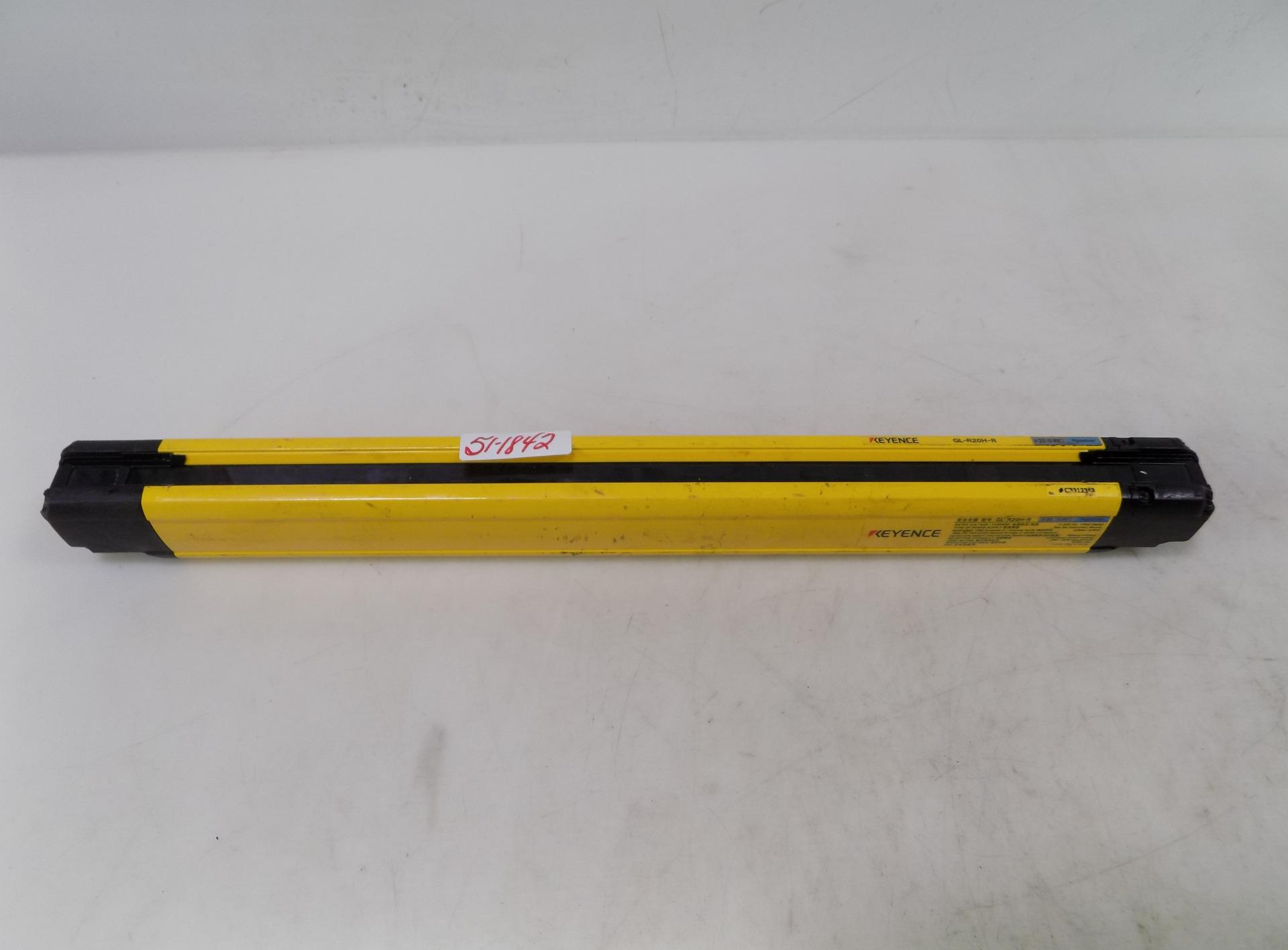details about keyence safety light curtain gl r20h r