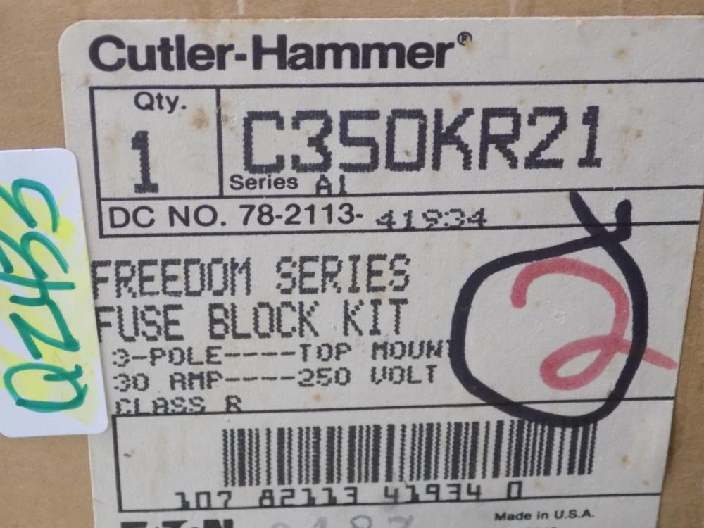 medium resolution of cutler hammer 30a 250v 3 pole freedom series fuse block kit c350kr21 series a1