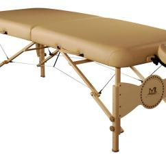 Folding Chair For Massage Cushion Banana Leaf Chairs Mt Midas Plus Portable Table Carry Case