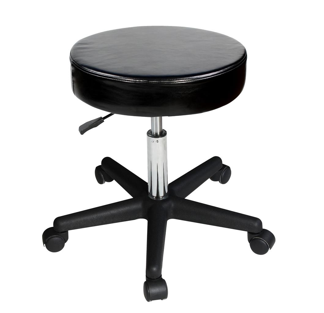 White Rolling Chair Master Rolling Swivel Hydraulic Stool Massage Salon