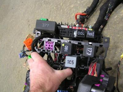 98 Jetta Fuse Diagram Tdi Swap Harness Vw Jetta 99 5 Mk4 Fuse Box Relays Etc Ebay