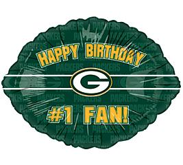 GREEN BAY PACKERS BIRTHDAY PARTY BALLOON Football NFL EBay