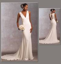 Vogue Bridal Original Sewing Pattern Stunning Misses