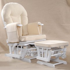 Maternity Rocking Chair 4 Moms High Sereno Natural Wood Or White Nursing Glider