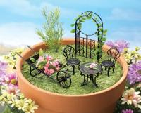 Miniature Garden Furniture | www.imgkid.com - The Image ...
