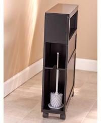 NEW Rolling Slim Bathroom Storage Organizer Cabinet Toilet ...