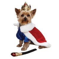 Halloween Dog Costume - Royal Pup King Prince Dog Pet ...