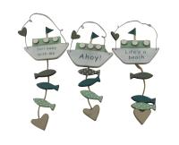 Sasse and Belle Boat Plaques - Nautical Room Decoration ...
